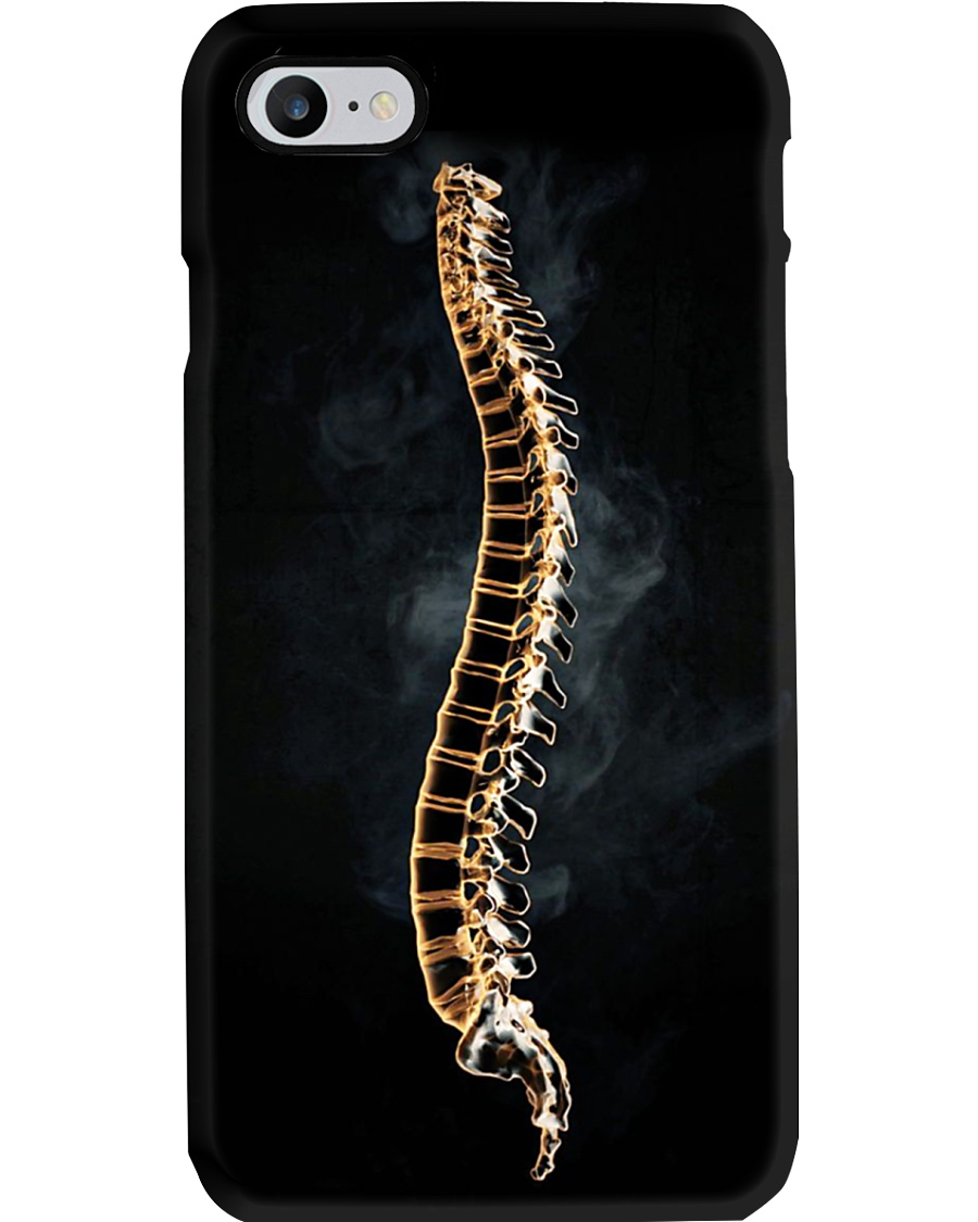 Chiropractic Spine and smoke Phone Case