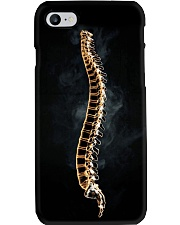 Chiropractic Spine and smoke Phone Case i-phone-7-case