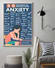 Social Worker 50 Strategies To Manage You Anxiety  11x17 Poster lifestyle-poster-1