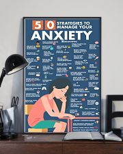 Social Worker 50 Strategies To Manage You Anxiety  11x17 Poster lifestyle-poster-2
