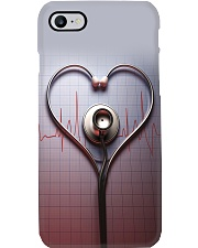 Respiratory Therapist Stethoscope Phone Case i-phone-7-case