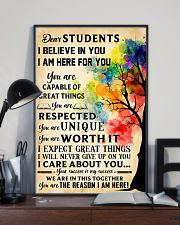 Teacher Dear Students 11x17 Poster lifestyle-poster-2