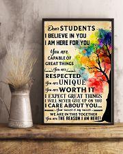 Teacher Dear Students 11x17 Poster lifestyle-poster-3