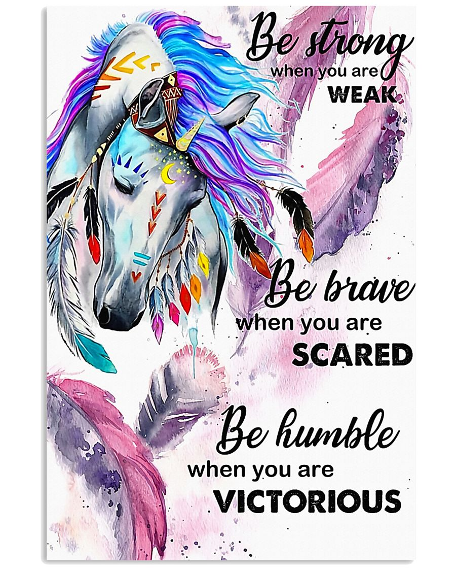 Horse Girl - Be strong when you are weak 11x17 Poster