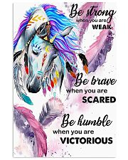 Horse Girl - Be strong when you are weak 11x17 Poster front