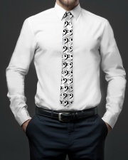 Contrabass Bass Clef Gift Tie aos-tie-lifestyle-front-01