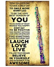 Oboe - Today is a good day 11x17 Poster front