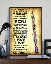 Oboe - Today is a good day 11x17 Poster lifestyle-poster-2