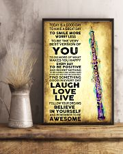 Oboe - Today is a good day 11x17 Poster lifestyle-poster-3