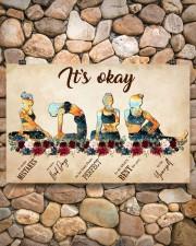 Yoga It's Okay To Make Mistakes 17x11 Poster aos-poster-landscape-17x11-lifestyle-15