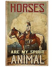 Horse Girl - Horses Are My Spirit Animal 11x17 Poster front