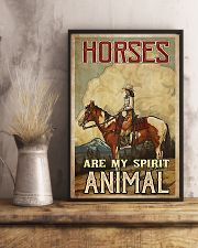 Horse Girl - Horses Are My Spirit Animal 11x17 Poster lifestyle-poster-3