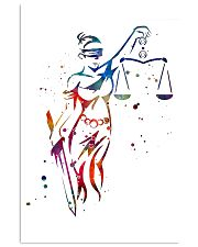 Themis Lady Justice Paralegal  11x17 Poster front