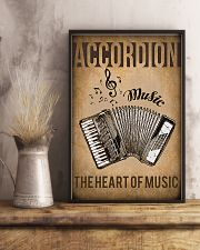 Accordion The Heart Of Music 11x17 Poster lifestyle-poster-3