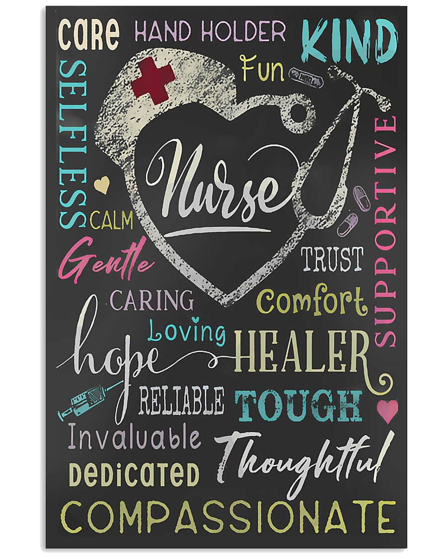 Nurse Adjective Poster 11x17 Poster