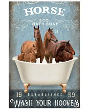 Horse Girl - Wash Your Hooves 11x17 Poster front