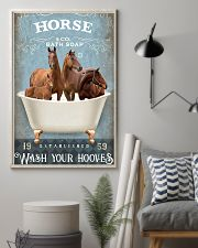 Horse Girl - Wash Your Hooves 11x17 Poster lifestyle-poster-1