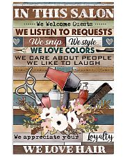 Hairdresser We Love Hair 11x17 Poster front