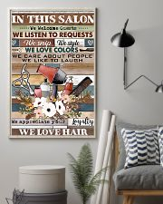 Hairdresser We Love Hair 11x17 Poster lifestyle-poster-1