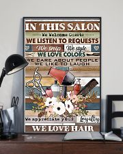 Hairdresser We Love Hair 11x17 Poster lifestyle-poster-2