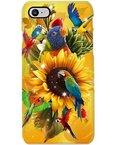 Parrot Yellow Phonecase