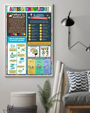 Autism Awareness Knowledge 11x17 Poster lifestyle-poster-1