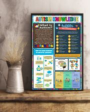 Autism Awareness Knowledge 11x17 Poster lifestyle-poster-3