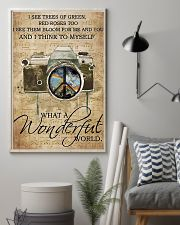Photographer A Wonderful World  11x17 Poster lifestyle-poster-1