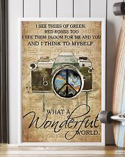 Photographer A Wonderful World  11x17 Poster lifestyle-poster-4