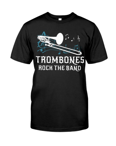Trombones rock the band