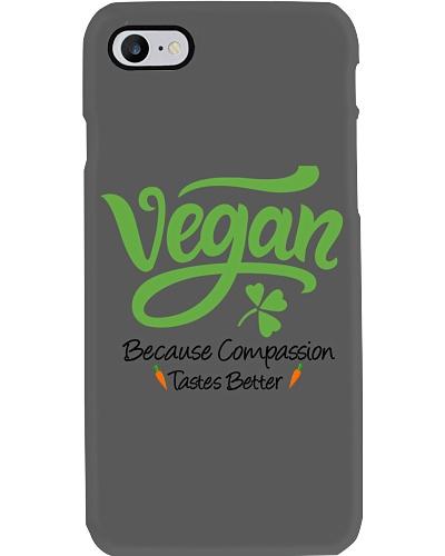 Vegan Because Compassion Tastes Better
