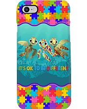 Autism It's OK To Be Different Phone Case i-phone-7-case