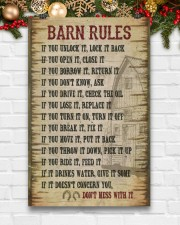 Horse Girl Barn Rules  11x17 Poster aos-poster-portrait-11x17-lifestyle-23