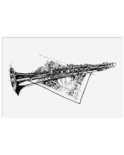 Clarinet Art Drawing