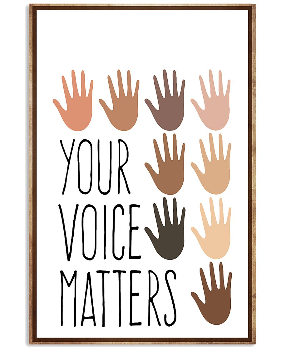 Social Worker  Your Voice Matters 11x17 Poster