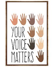 Social Worker  Your Voice Matters 11x17 Poster front