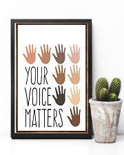 Social Worker  Your Voice Matters 11x17 Poster lifestyle-poster-8