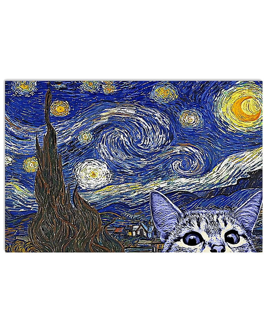 Veterinary Cat 17x11 Poster