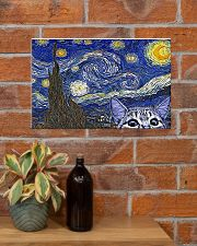 Veterinary Cat 17x11 Poster poster-landscape-17x11-lifestyle-23