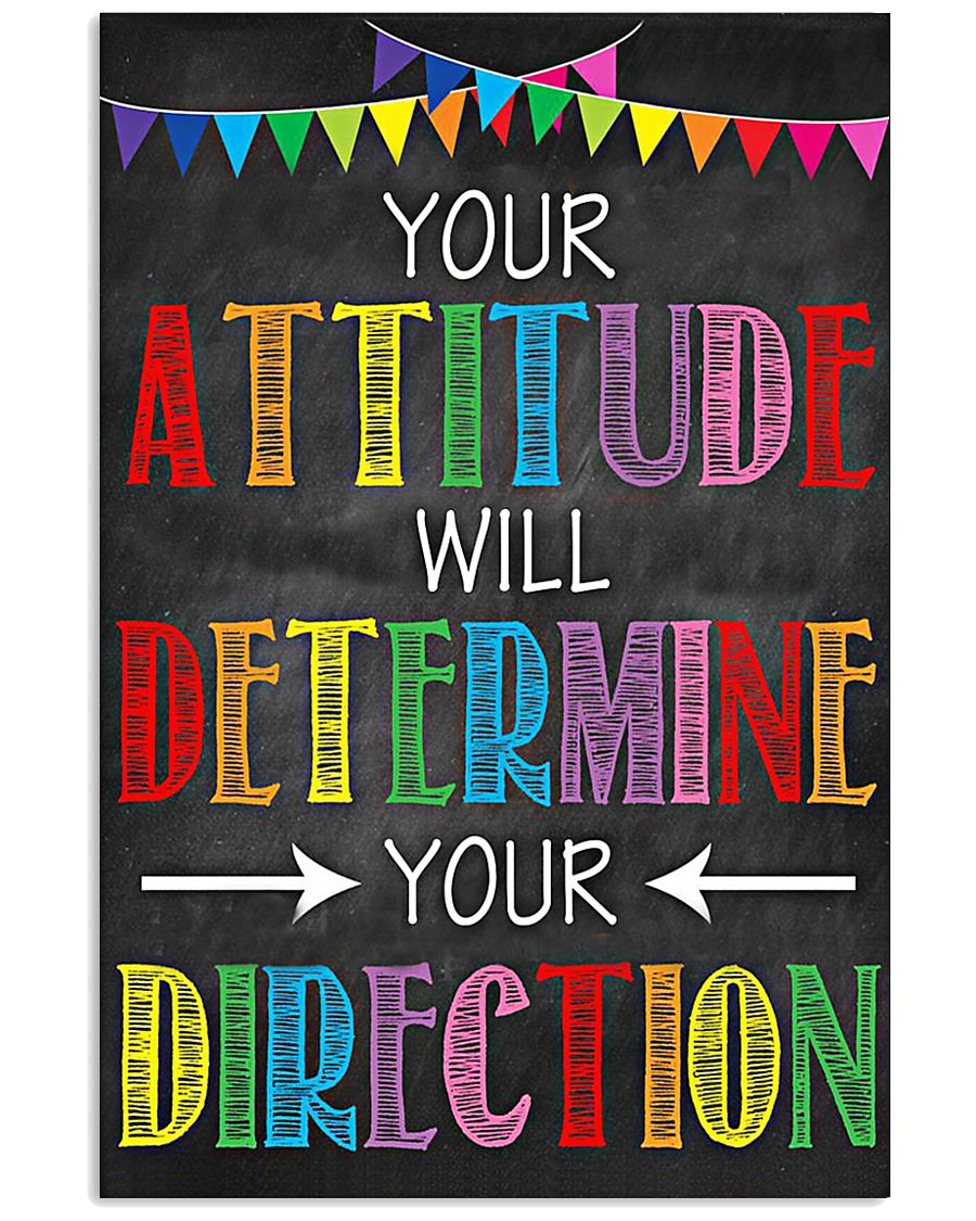 Social Worker Your attitude will determine 11x17 Poster