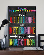 Social Worker Your attitude will determine 11x17 Poster lifestyle-poster-2