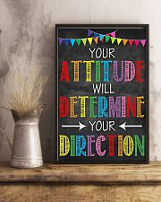 Social Worker Your attitude will determine 11x17 Poster lifestyle-poster-3