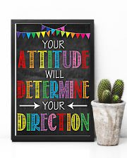 Social Worker Your attitude will determine 11x17 Poster lifestyle-poster-8