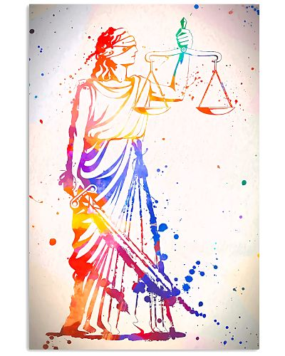 Paralegal Lady Of Justice