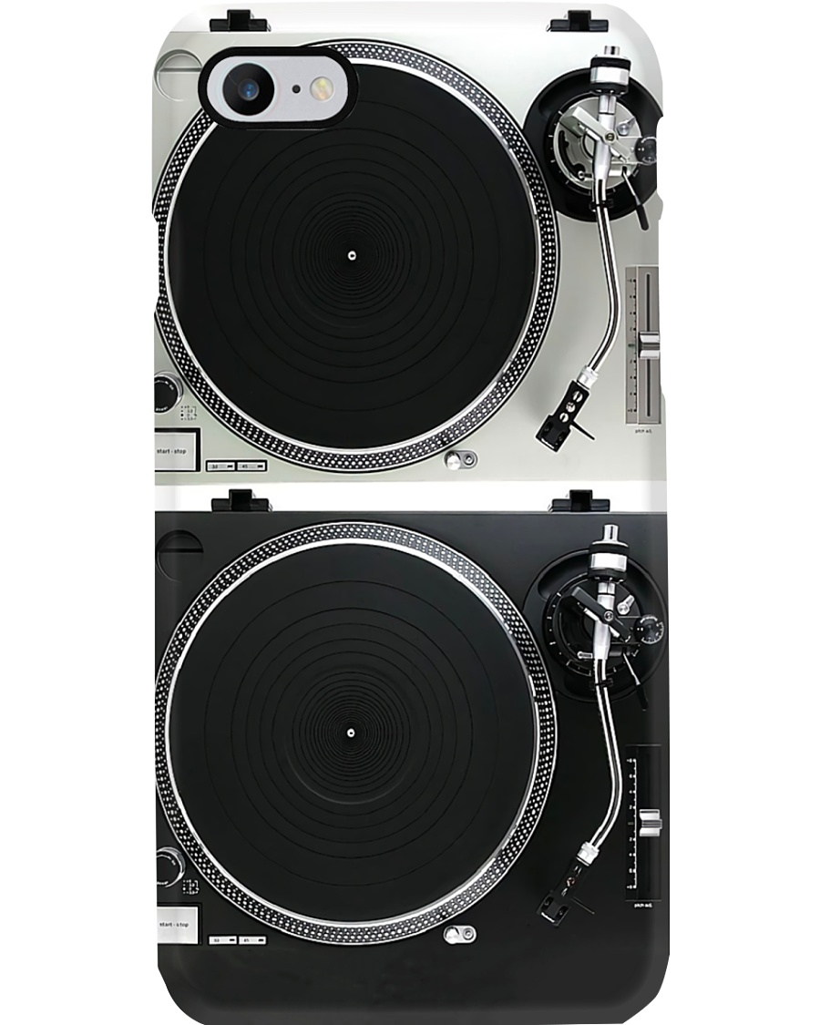 DJ turntable Phone Case