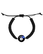 Paramedic Logo Cord Circle Bracelet thumbnail