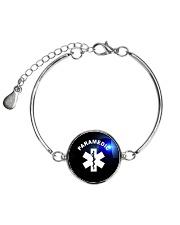 Paramedic Logo Metallic Circle Bracelet thumbnail