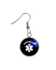 Paramedic Logo Circle Earrings thumbnail