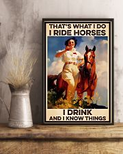 Horse Girl That's What I Do 11x17 Poster lifestyle-poster-3