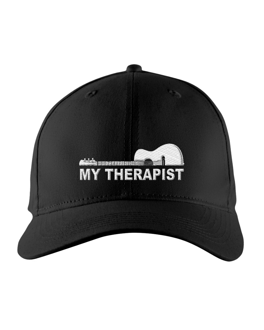 My Therapist Guitar  Embroidered Hat